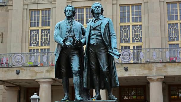Goethe-Schiller Denkmal