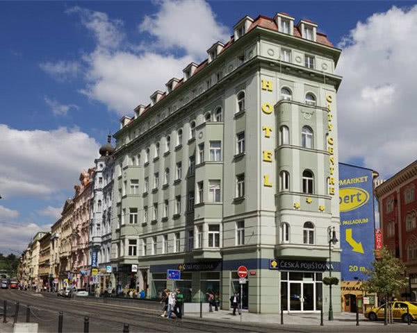 Unterbringungsbeispiel Prag Hotel City Centre***- Außenansicht