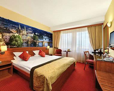 Kursfahrt 4-Sterne-Unterkünfte Prag- Zimmer