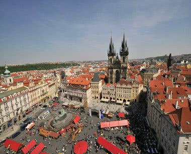 Kursfahrt Prag: Altstädter Ring