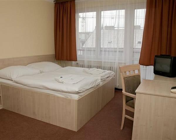 Unterbrinungsbeispiel Prag - Zimmer