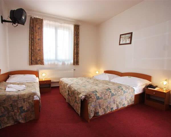 Unterbringungsbeispiel Prag Hotel City Centre***- Zimmer