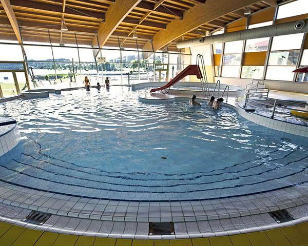 Abschlussreise Ferienpark Lipno-Stausee: Hallenbad