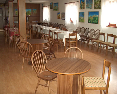 Schulreise 3-Sterne-Hotel in Mikulov- Speisesaal