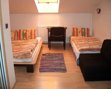Klassenfahrt 3-Sterne-Hotel in Mikulov - Zimmerbeispiel