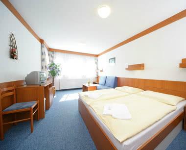Klassenfahrt Tschechien: Zimmerbeispiel Aquapark***