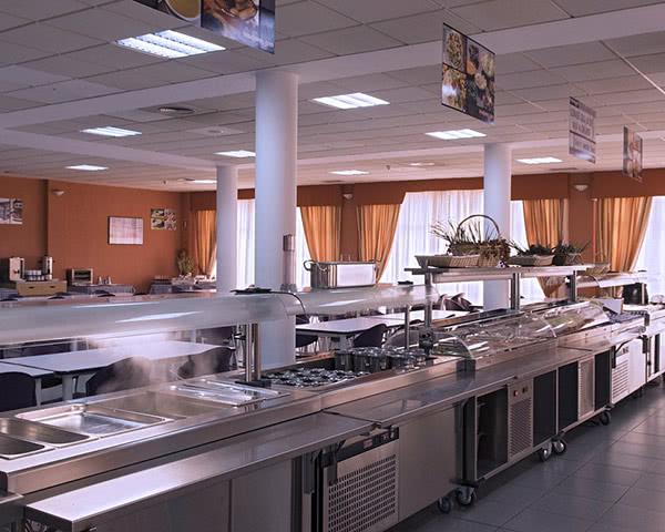 Gruppenreise Inturjoven Hostel Sevilla: Buffet