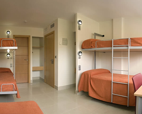 Abschlussfahrt Inturjoven Hostel Sevilla- Mehrbettzimmer
