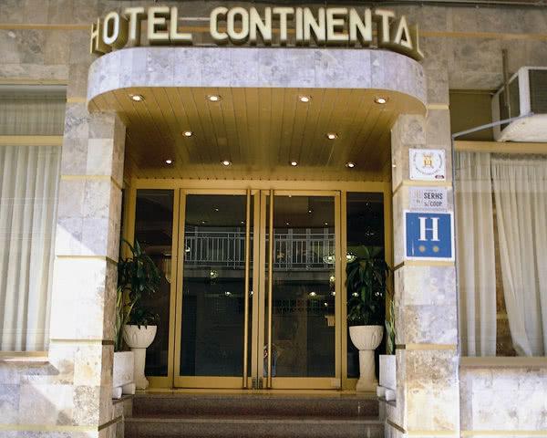 Klassenfahrt Calella 2-Sterne-Hotel: Außenansicht