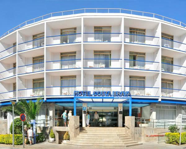 Schulfahrten Hotel Costa Brava- Außenansicht