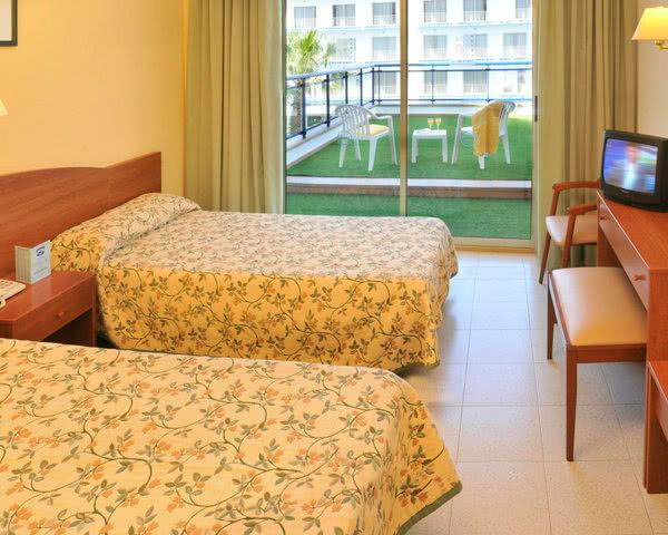 Klassenfahrten Hotel Costa Brava- Zimmerbeispiel
