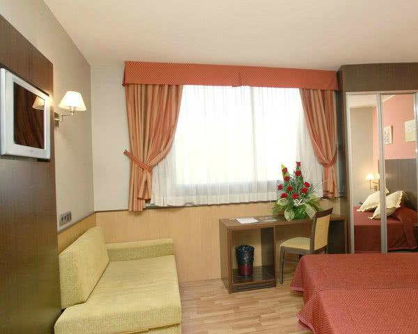 Schulfahrten Barcelona 3-Sterne-Komforthotel- Zimmerbeispiel