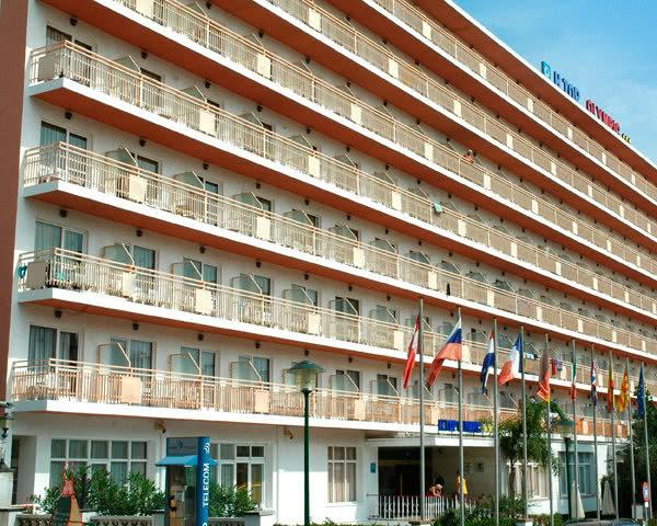 Klassenfahrt Costa Brava Hotel Top Olympic- Außenansicht