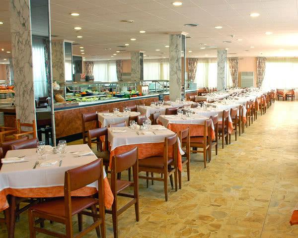 Abireisen Costa Brava Hotel Top Olympic: Restaurant