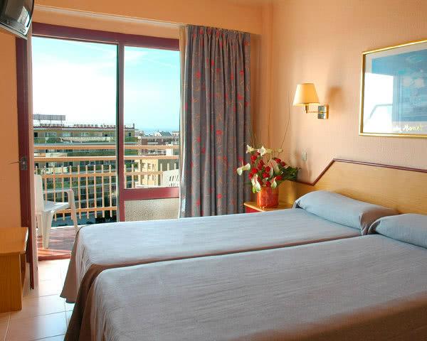 Kursfahrt Costa Brava Hotel Top Olympic- Zimmerbeispiel