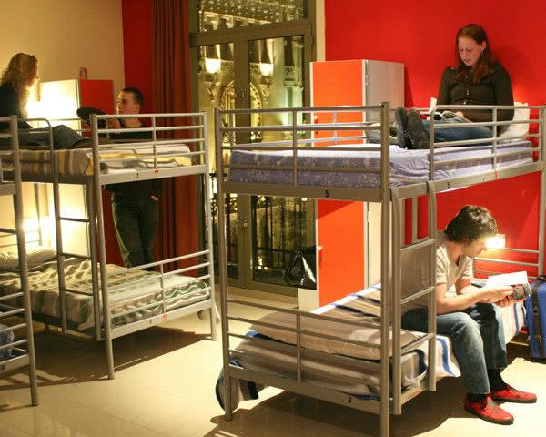 Abifahrt Barcelona Hostel Point Centric- Mehrbettzimmer