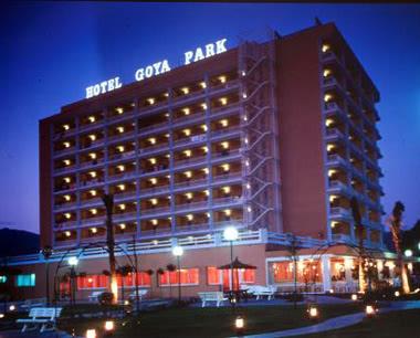 Klassenfahrt Katalonien Hotel Goya Park- Außenansicht