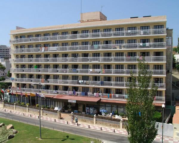 Studienfahrt Katalonien Hotel Montevista- Außenansicht