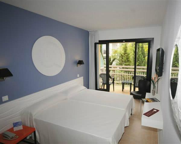Klassenfahrten Hotel Montevista- Zimmerbeispiel