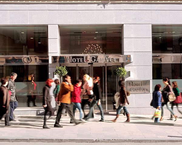 Schulreise Madrid 3-Sterne Hotel- Außenansicht