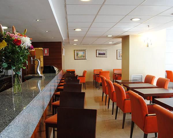 Jugendfahrt Madrid 3-Sterne Hotel- Caféteria