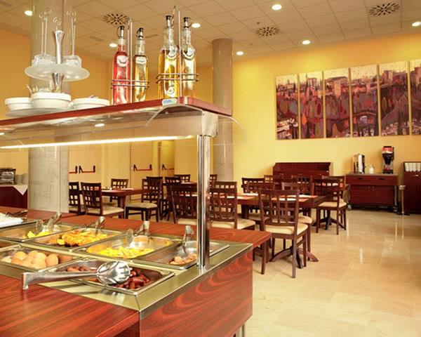 Studienfahrt Madrid 3-Sterne Hotel: Restaurant