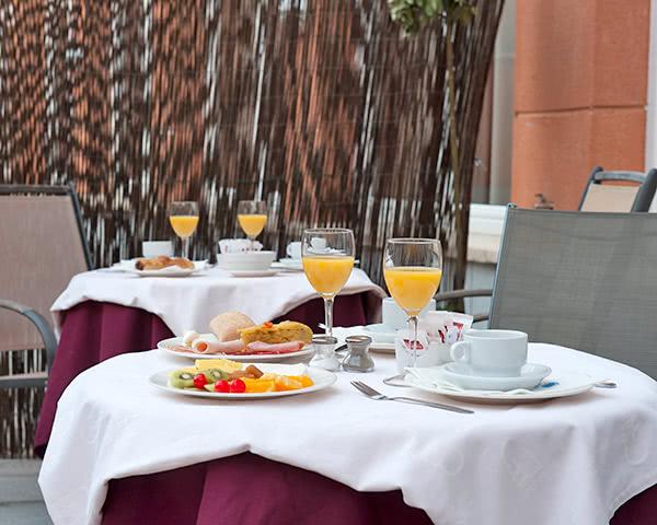 Klassenreise Madrid 3-Sterne Hotel: Frühstück