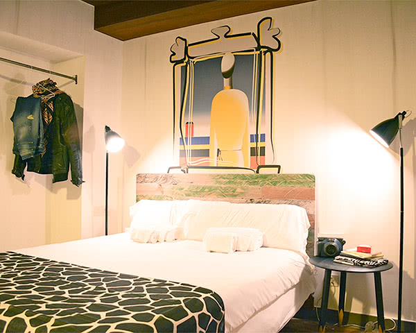 Schulfahrt Hostel Room 007 Chueca- Zimmerbeispiel
