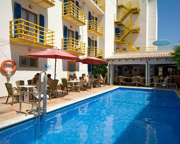 Studienfahrten Mallorca Hotel Bellavista: Pool
