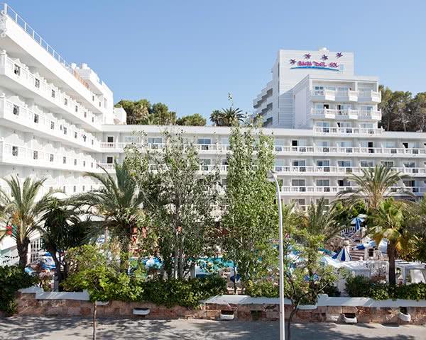 Schülerfahrt Hotel Santa Ponca- Außenansicht
