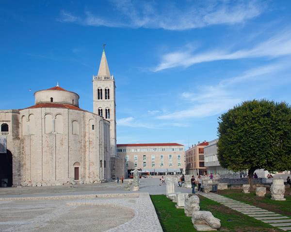 Gruppenreise Hostel Zadar: Altstadt