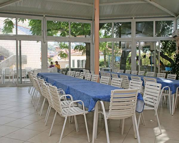 Klassenfahrt Jugendhostel Dubrovnik- Speisesaal