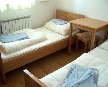 Schulreise Jugendpark Zadar: Zimmerbeispiel