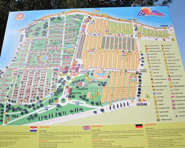 Gruppenreisen Ferienanlage Bi Village: Plan