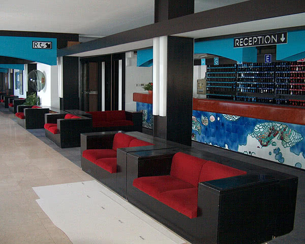Klassenreise Ferienzentrum Plava Laguna- Empfang