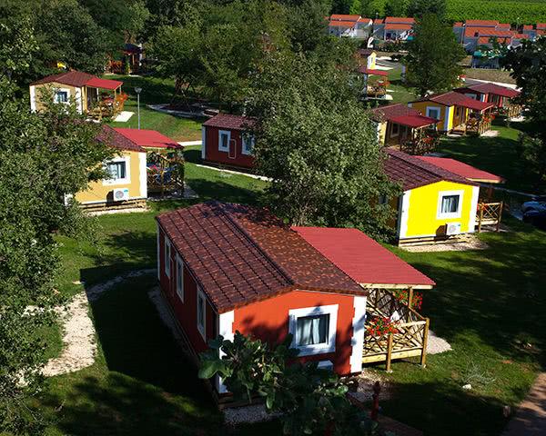 Gruppenfahrten Ferienanlage Kamp Mareda- Anlage