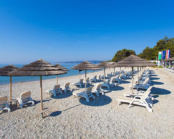 Abschlussfahrt Ferienanlage Jezevac****- Strand Jezevac
