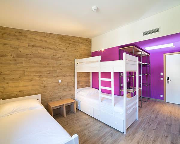 Klassenfahrt Hostel Link- Mehrbettzimmer