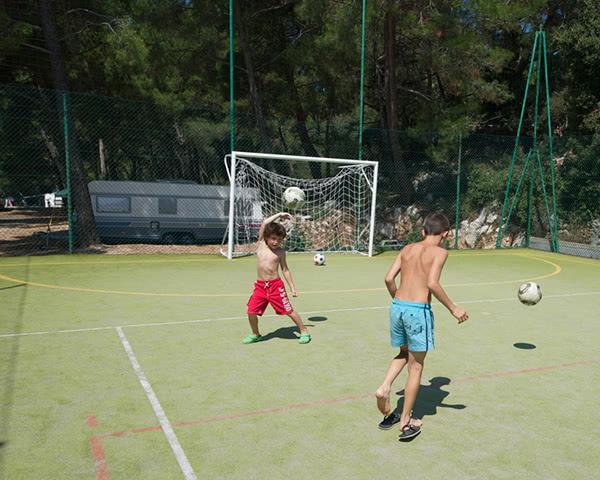 Klassenfahrt Mali Losinj Fussball