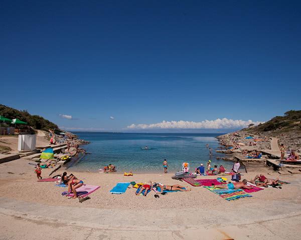 Klassenfahrt Mali Losinj Strand