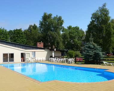 Klassenfahrt Ferienzentrum Lech: Pool