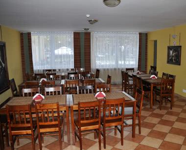 Klassenreise Krakau Junior Krakus- Speiseraum