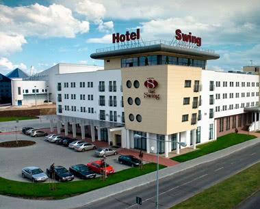 Schulreise Krakau Hotel Swing****: Außenansicht