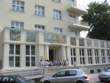 Klassenfahrt Hotel Nawojka- außen