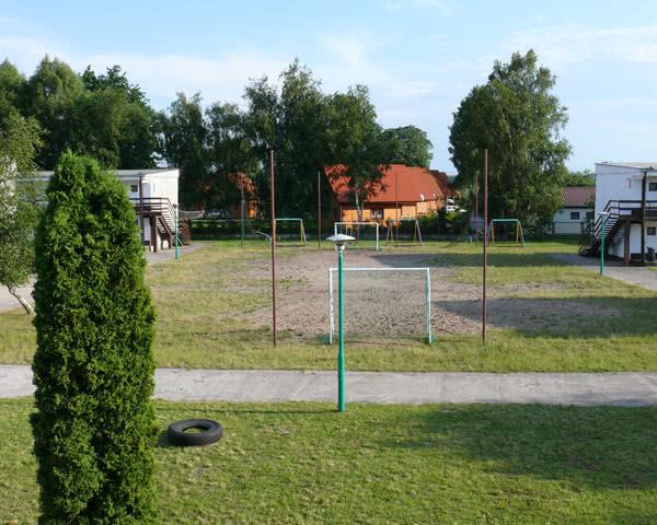 Abireise Ferienanlage Slowinska Perla: Bolzplatz