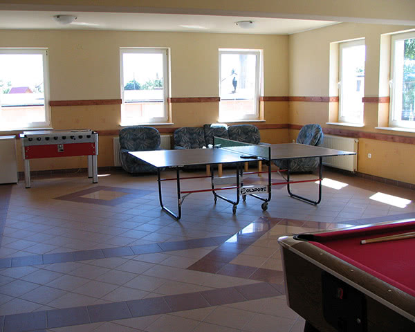 Kursfahrt Ferienhaus Wena- Tischtennis