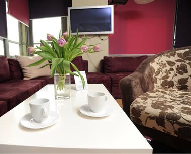 Abifahrt Fusion-Hostel & Hotel- Lounge