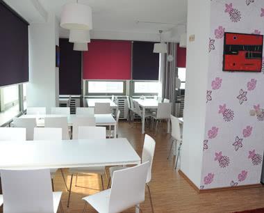 Kursreise Fusion-Hostel & Hotel: Speiseraum