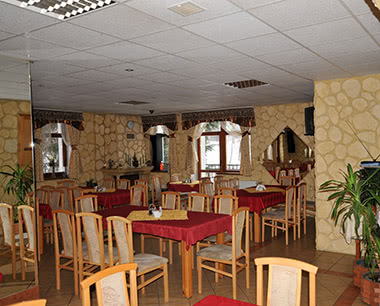 Klassenfahrt Pension Borowik- Restaurant