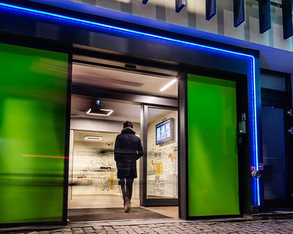 Klassenfahrten Generator Hostel Kopenhagen- Eingang
